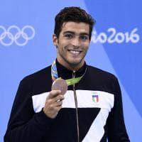 Rio 2016, Gabriele Detti bronzo nei 400 stile libero