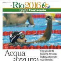 Rio 2016, con Repubblica su iPad c'è