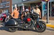 La Moto Guzzi vola a Sturgis, nella tana della Harley