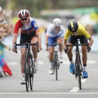 Ciclismo, medaglia per l'Italia: bronzo della Longo Borghini
