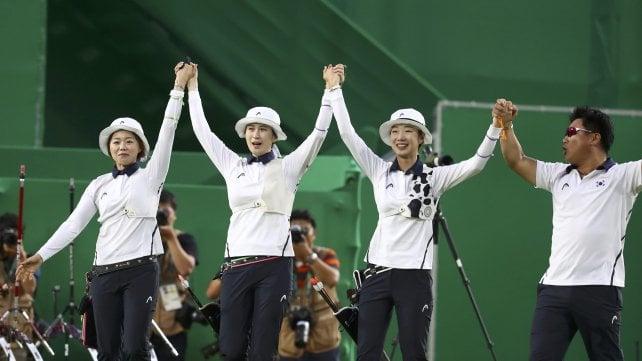 Tiro con l'arco, festeggia la Corea del Sud: azzurre beffate in semifinale