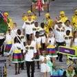 Rio, portabandiera della Namibia arrestato per molestie