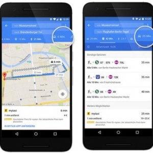 Mytaxi, ora si prenota anche su Google Maps