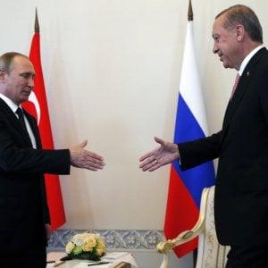 Russia-Turchia, pace fatta tra Putin e Erdogan