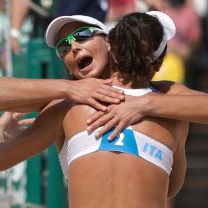 Beach volley, tutto facile per Giombini-Menegatti. Battute le egiziane