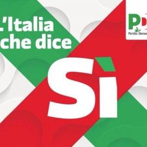 """Referendum, Renzi: """"Se passa, i 500 mln risparmiati ai poveri"""". Ed è polemica nel Pd per la Festa dell'Unità pro sì"""
