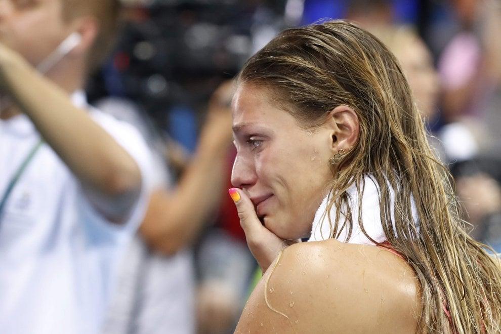 Rio 2016, la russa Efimova in lacrime: vince l'argento ma piovono insulti