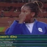 Rio 2016, Edwige Gwend in lacrime per 3 ore: