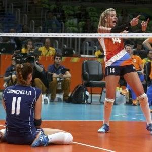Volley, Italia ko anche con l'Olanda: azzurre fuori