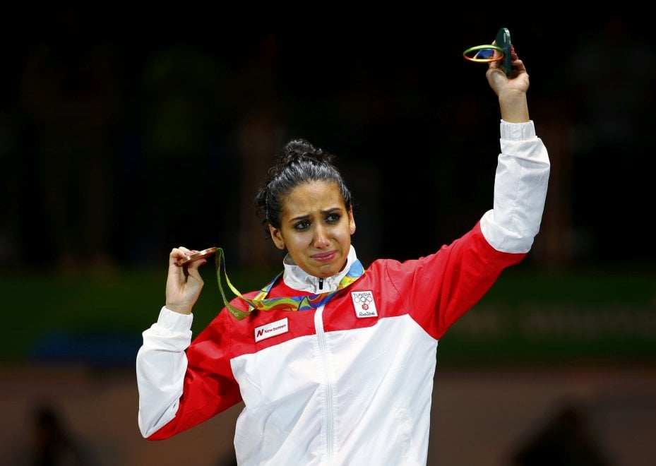"""Fioretto, la dedica di Ines dopo il bronzo: """"Per tutte le donne tunisine e arabe"""""""