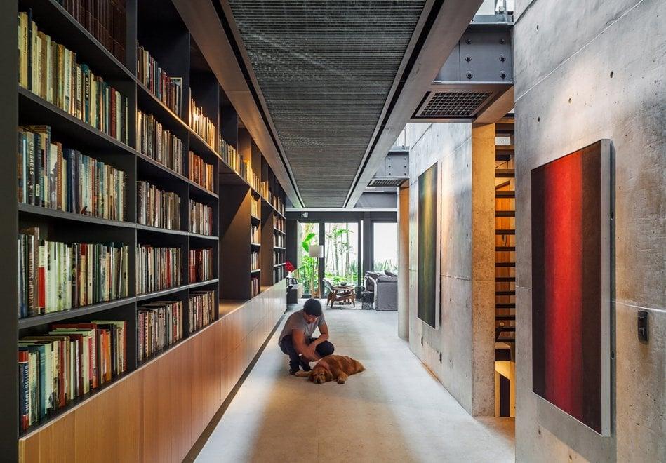 Brasile una casa piena di libri 7500 volumi nell 39 open - Casa piena di zanzare ...
