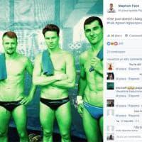 Rio 2016, l'ironia della nazionale tedesca di tuffi.
