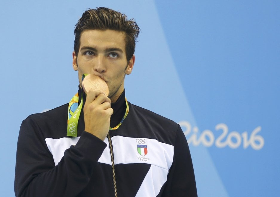 Rio 2016, Gabriele Detti vince il bronzo nei 1500 m stile libero ...
