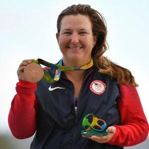 Kimberly Rhode: da Atlanta a Rio sempre a medaglia. Gli olimpionici più longevi