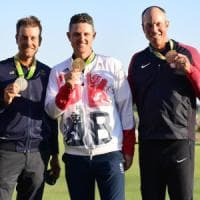 Golf, Justin Rose è d'oro 112 anni dopo