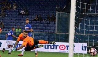 Coppa Italia, Sampdoria avanti facile. Il Verona elimina il Crotone