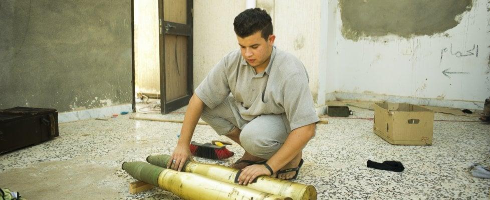 Libia, tra i miliziani di Misurata che hanno liberato Sirte