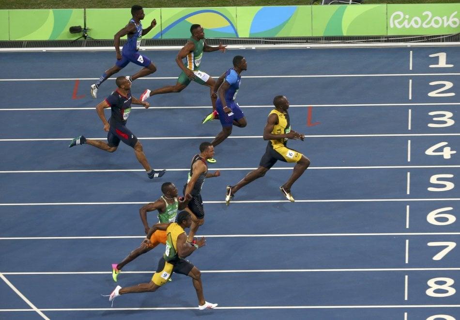 Rio 2016, Usain Bolt vince i 100m: terzo oro consecutivo ai Giochi