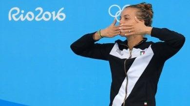 Tania, addio con medaglia  ''Doveva andare così''   vd