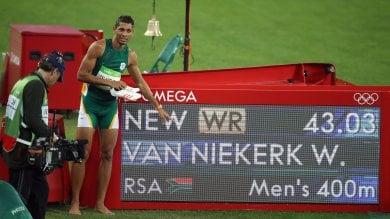 Van Niekerk, record tra Friuli e Bolt