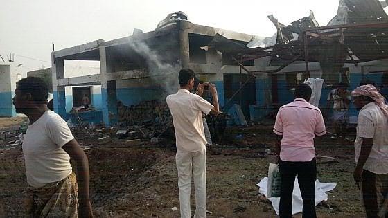 Yemen, ospedale bombardato, Msf: 'Schieramenti conoscevano nostre coordinate'