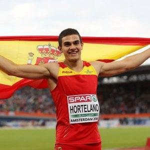 Atletica, nei 200 di Bolt la nuova stella è Hortelano