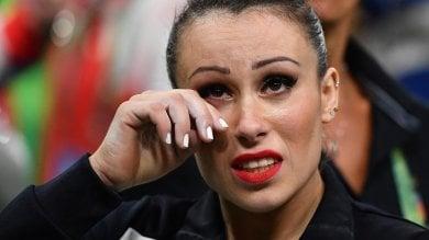 Le lacrime di Ferrari è quarta, oro alla Biles