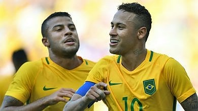Brasile, sei gol all'Honduras Neymar si prende la finale