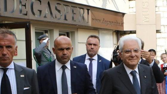 """Mattarella: """"Ue fondata non da banche, ma da politici e parlamenti"""""""
