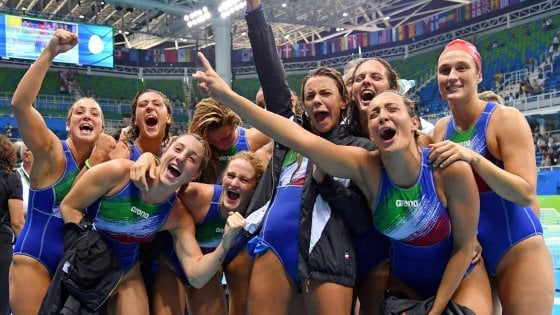 Rio 2016, è il giorno del Setterosa: sfida agli Usa per l'oro. Volley a caccia della finale