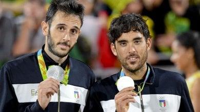 Beach Volley: argento per Lupo-Nicolai, gli azzurri si arrendono al Brasile