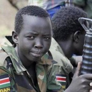 Sud Sudan, 650 bambini col kalashnikov nelle trincee della guerra civile