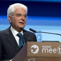 Mattarella apre il Meeting di Rimini: