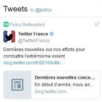 Twitter contro il terrorismo: bloccati 235mila account