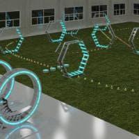 Un'arena per imparare a pilotare i droni
