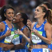 Atletica, finale e record italiano per le azzurre della 4x400