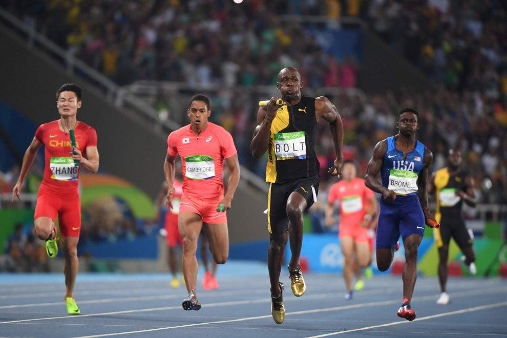 Rio 2016, Bolt decisivo nella 4x100: oro alla Giamaica