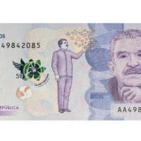 Colombia, una banconota per Gabriel García Márquez: Gabo tra le farfalle