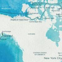 Polo Nord, il passaggio a NordOvest è aperto: via libera per la crociera di lusso