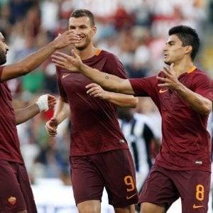 Roma-Udinese 4-0: super Perotti, i giallorossi calano subito il poker