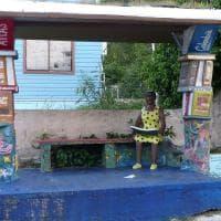 Providencia, l'isola dove le fermate del bus sono pop