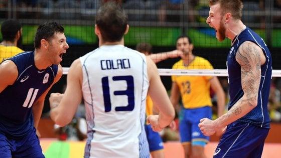 Rio 2016, la diretta dei Giochi:  il volley azzurro vince argento. Chamizo bronzo