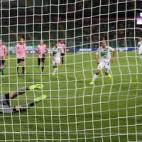 Palermo-Sassuolo 0-1: è sempre Berardi, i neroverdi esultano