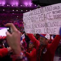 Rio 2016, cerimonia di chiusura: spuntano i versi di Celentano