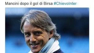 Inter ko con il Chievo, l'ironia dei tifosi su Twitter