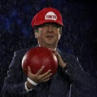 Rio 2016, Shinzo Abe come Super Mario per lanciare Tokyo 2020