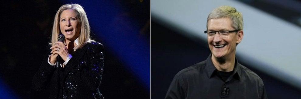 ''Siri non sa pronunciare il mio cognome'', Barbra Streisand si rivolge a Tim Cook