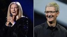 ''Siri non sa pronunciare il mio cognome'', Barbra Streisand chiama Cook