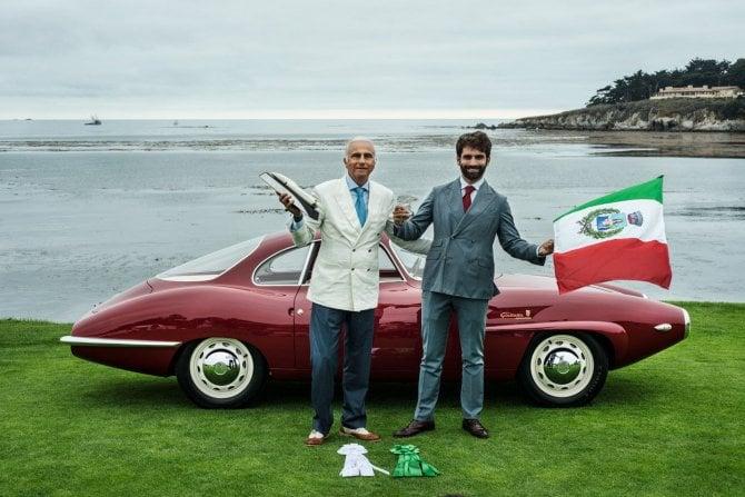 L'Alfa Romeo Sprint Speciale è la più elegante vettura chiusa a Pebble Beach