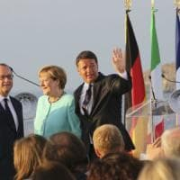 Renzi: Ventotene, buoni segnali dal summit, ma è lunga. Premier punta ora su riforma contratti